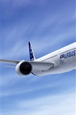 Preview iPhone wallpaper AirBus A350