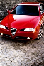 Preview iPhone wallpaper Alfa Romeo 166 MK2 24 JTD