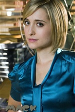Preview iPhone wallpaper Allison Mack 01