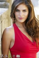 Preview iPhone wallpaper Anahi Gonzales 01