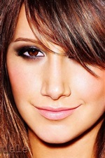 Preview iPhone wallpaper Ashley Tisdale 02