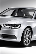 Preview iPhone wallpaper Audi A6 Hybrid 2011