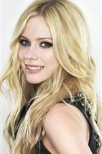 Preview iPhone wallpaper Avril Lavigne 02