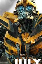 Preview iPhone wallpaper Bumblebee In Transformers 3