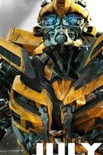 Vorschau des iPhone Hintergrundbilder In Bumblebee Transformers 3