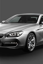 Preview iPhone wallpaper Concept Car BMW 6 Series Coupe 2010