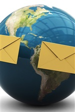 지구 차원 주위를 이메일로 보내기