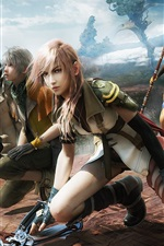 Preview iPhone wallpaper Final Fantasy 13