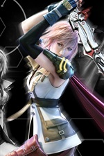 Preview iPhone wallpaper Final Fantasy XIII