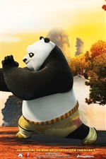 Preview iPhone wallpaper Kung Fu Panda 2 HD