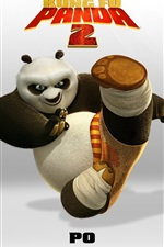 Preview iPhone wallpaper Kung Fu Panda 2 PO