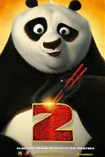 Preview iPhone wallpaper Kung Fu Panda 2