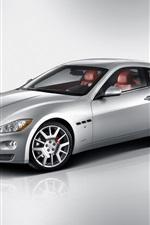 Preview iPhone wallpaper Maserati GranTurismo 2007