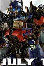 Vorschau des iPhone Hintergrundbilder Optimus Prime Transformers 3