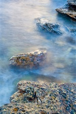 Preview iPhone wallpaper Rocky Coast in Scotland