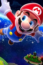 Preview iPhone wallpaper Super Mario 3D modeling