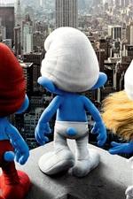 미리보기 iPhone 배경 화면 Smurfs 2011