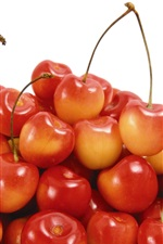 Preview iPhone wallpaper s sweet and sour red cherry