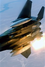 Preview iPhone wallpaper Aircraft missile launch