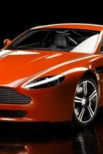 Preview iPhone wallpaper Aston V8 Vantage Car