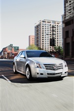 Preview iPhone wallpaper Cadillac CTS 2011