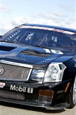 Preview iPhone wallpaper Cadillac CTS-V Race Car