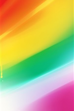 Preview iPhone wallpaper Colorful abstract