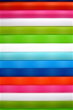 Preview iPhone wallpaper Colorful fabrics