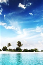 Preview iPhone wallpaper Diggiri Island