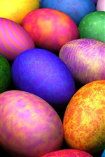 Preview iPhone wallpaper Easter Eggs HD
