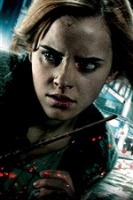Preview iPhone wallpaper Emma Watson in Harry Potter 7