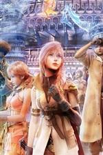 Preview iPhone wallpaper Final Fantasy 13 widescreen