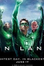 Preview iPhone wallpaper Green Lantern HD