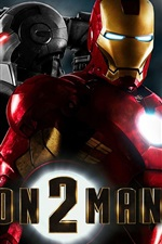Preview iPhone wallpaper Iron Man 2