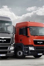 Preview iPhone wallpaper MAN 20TGX and 20TGS Trucks
