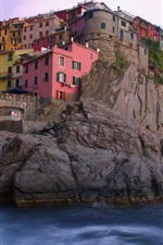 Preview iPhone wallpaper Manarola Italy
