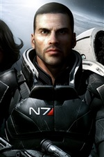 Preview iPhone wallpaper Mass Effect 2