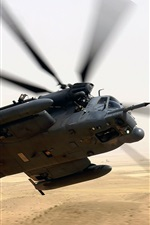 Preview iPhone wallpaper Military helicopter
