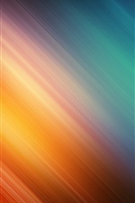 Preview iPhone wallpaper Orange and blue twill background