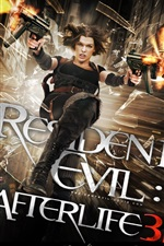 Preview iPhone wallpaper Resident Evil: Afterlife