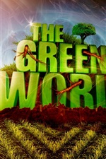Preview iPhone wallpaper The green world