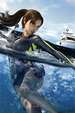 Preview iPhone wallpaper Tomb Raider 8