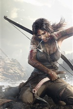 Preview iPhone wallpaper Tomb Raider 9 HD