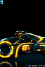 Preview iPhone wallpaper Tron 2010