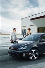 iPhone fondos de pantalla Volkswagen Golf VI GTI