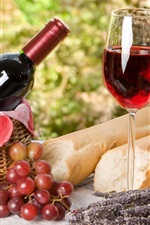 Preview iPhone wallpaper Wine and Food