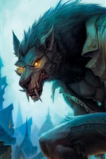 Preview iPhone wallpaper World of Warcraft: Cataclysm