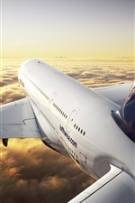 Preview iPhone wallpaper Airbus A380