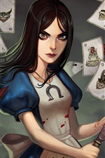 Preview iPhone wallpaper Alice: Madness Returns HD