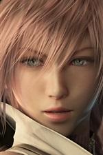 Menina bonita em Final Fantasy 13